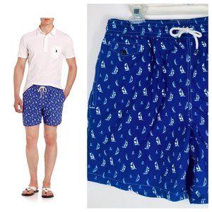 Ralph Lauren Polo Mens XL Swim Trunks Board Shorts